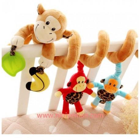 آویز مارپیج طرح میمون
