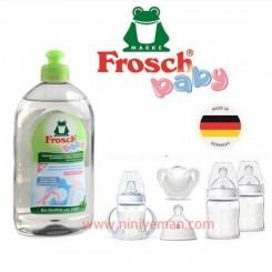 مایع مخصوص شستشو و استريل ظروف کودک Frosch