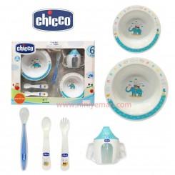 ست ظرف غذا ۶ پارچه Chicco