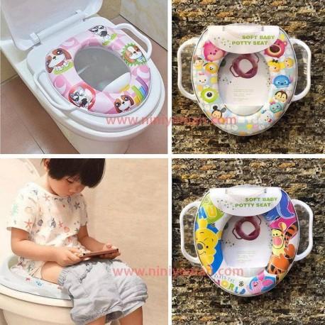 تبديل توالت فرنگي کودک طرح Disney