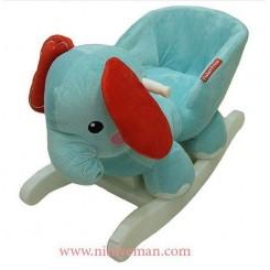 راکر طرح فیل fisher price
