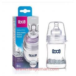 شیشه شیر پیرکس 150 میل تپل Lovi