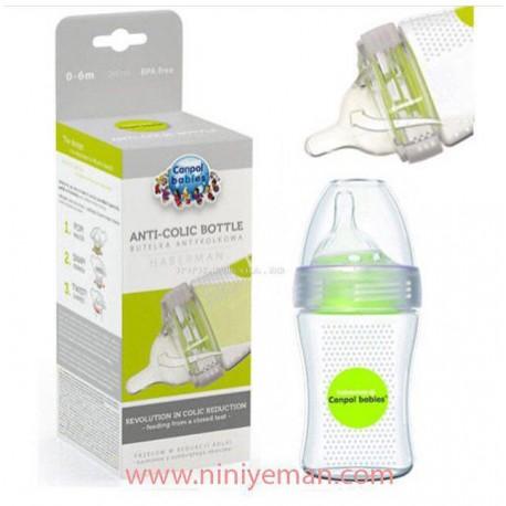 شیشه شیر طلقی 250 میل conpol babies