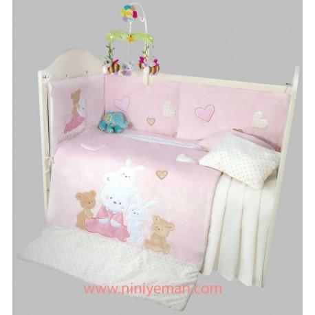 سرویس خواب روتختی خرس و خرگوش playgro