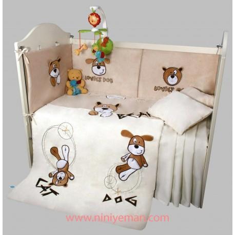 سرویس خواب روتختی نوزادی سگ خرس گربه playgro