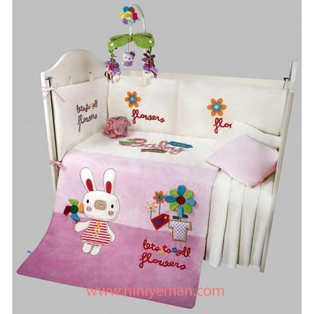 سرویس خواب روتختی نوزادی خرگوش گوش دراز playgro